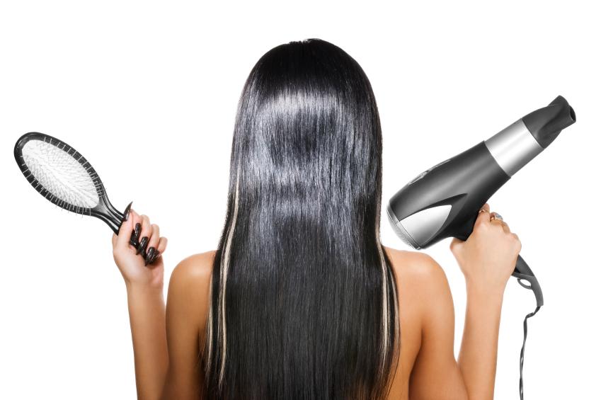 Comment se lisser les cheveux avec un sèche-cheveux ?